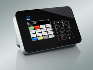LAN-Touch wet-room terminal for ProMark