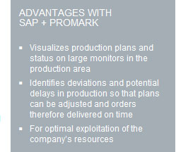 Advantages with SAP + ProMark