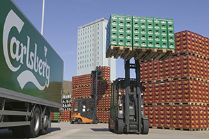 Optimisation of the logistics area at Carlsberg