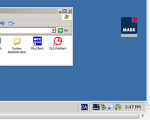 ProTracker icon and taskbar